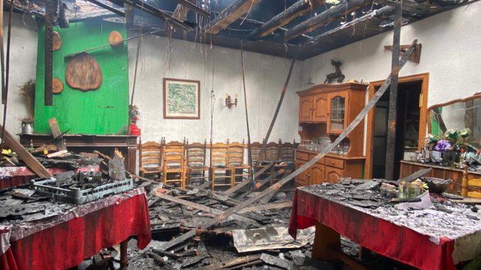 """Incendie de """"Las Termas"""""""